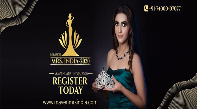 Maven Mrs India 2020 Auditions in Chandigarh