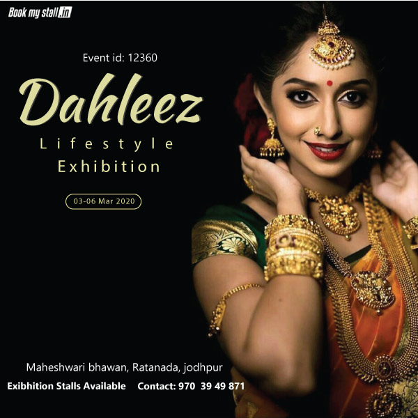 Dahleez Lifestyle Exhibition at Jodhpur - BookMyStall