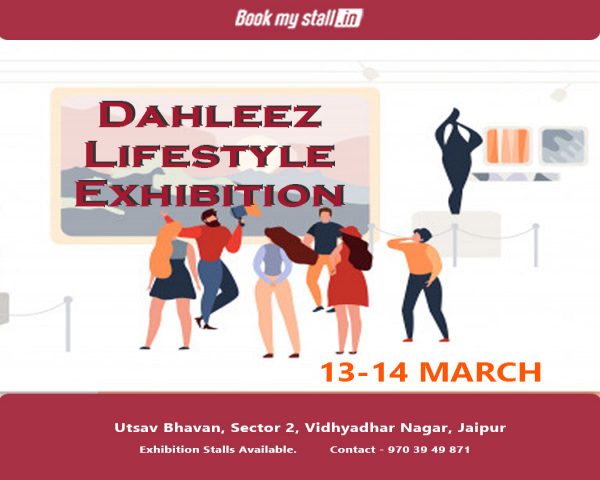 Dahleez - Fashion & Lifestyle Exhibition at Jaipur - BookMyStall