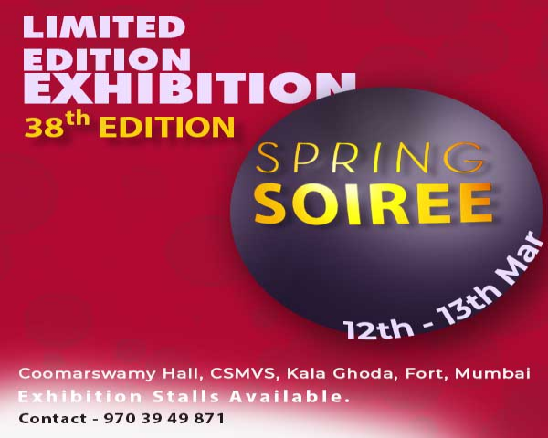 Limited Edition Exhibition-Spring Soiree-38th Edition in Mumbai - BookMyStall