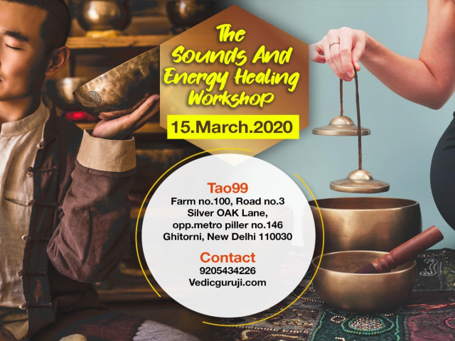 Vedic Sound Energy Healing and More Workshop