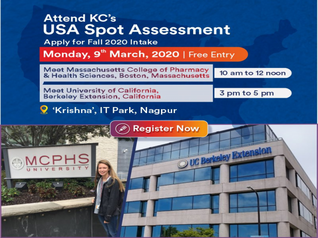Attend USA Spot Assessment Day on Monday, 9th March, 2020 - Free Entry