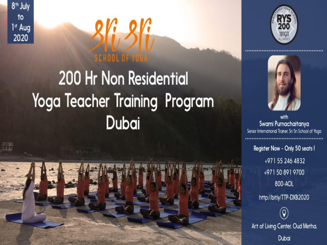 200 HRS Yoga Teacher Training Program Dubai