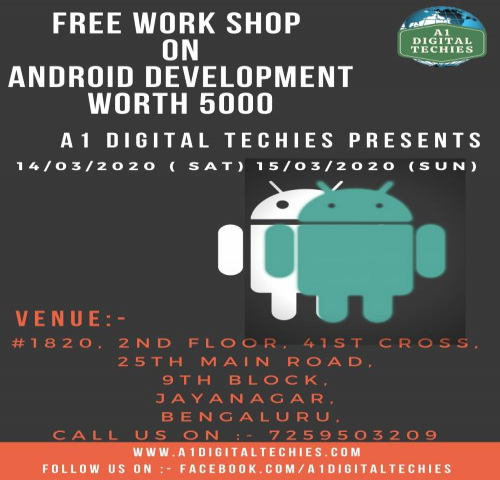 Workshop on  Android Development