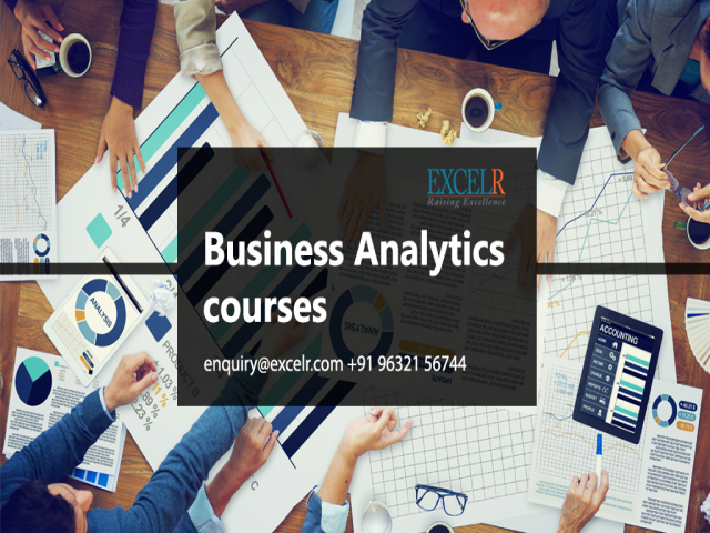 Business analytics courses event