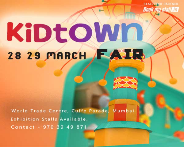 Kidtown Fair Exhibition in Mumbai - BookMyStall