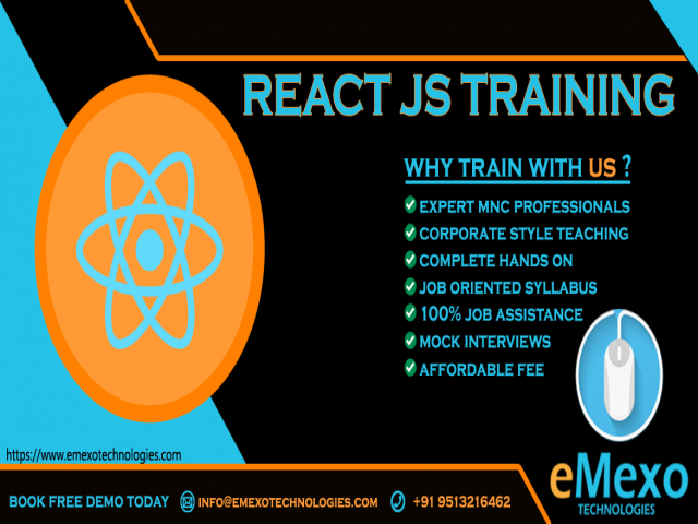 React js Training Institute in Electronic City Bangalore
