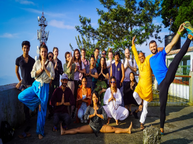 Experience the  200 Hour Yoga Teacher Training in Rishikesh India