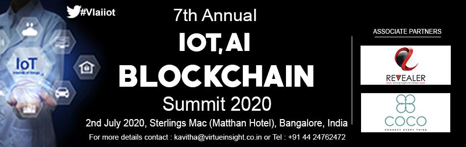 7th Annual IoT, AI & Blockchain Summit 2020