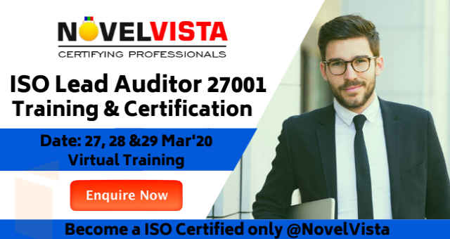 ISO 27001 Lead Auditor Training & Certification by NovelVista