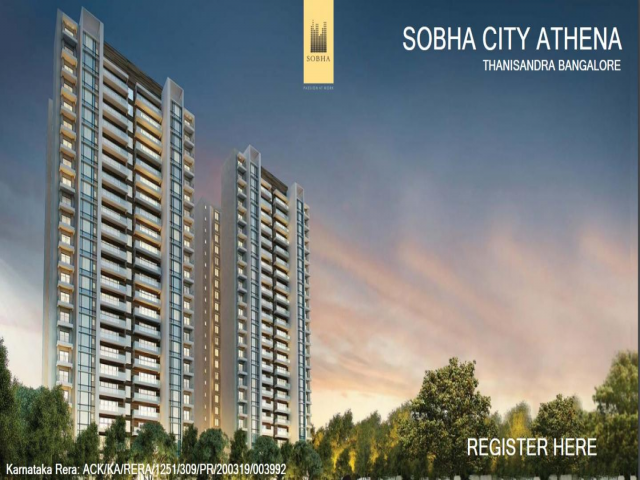 Sobha City Athena , is upcoming residential property-Preproject