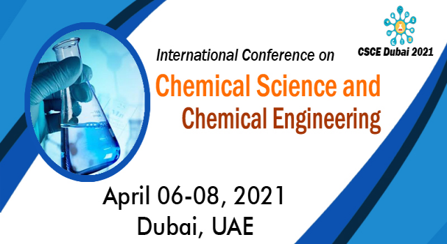 International Conference on Chemical Science and Chemical Engineering