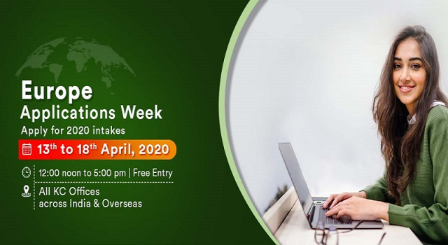 Attend Europe Applications Week from 13th to 18th April 2020