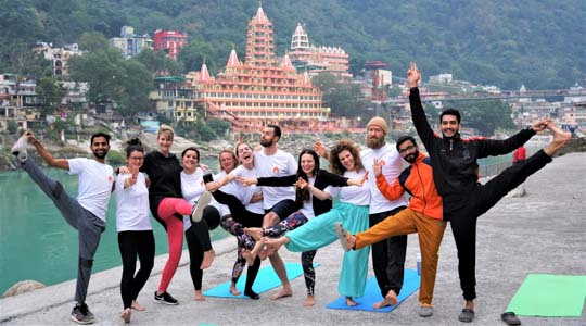 500 Hour Yoga Teacher Training Course 2020 - Rishikesh Yogkulam
