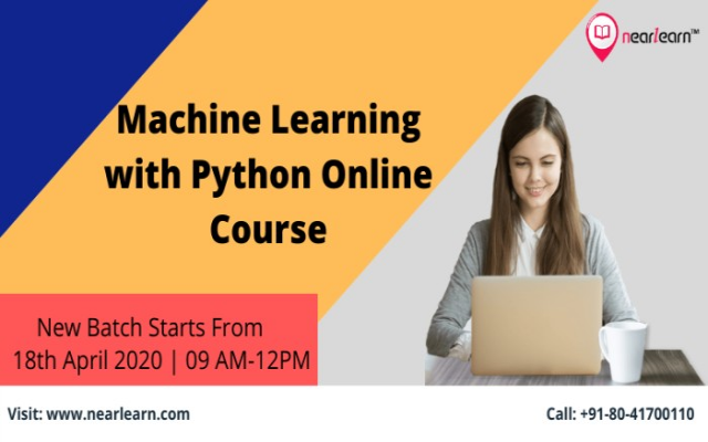 Machine learning with python online course