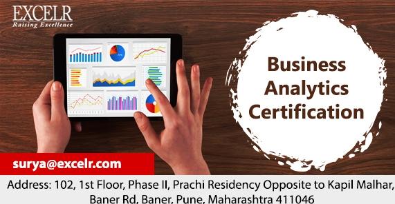 Business Analytics Certification Pune
