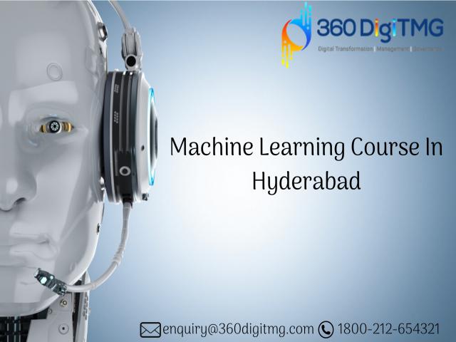 machine learning course 360DigiTMG