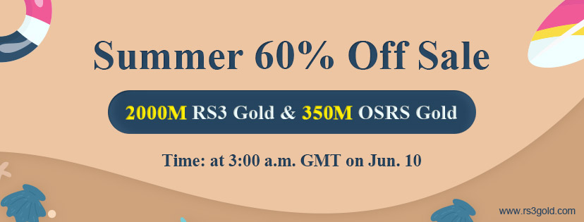 Welcome to Take Part in Summer Flash Sale for Up to 60 off runescape 3 gold Jun