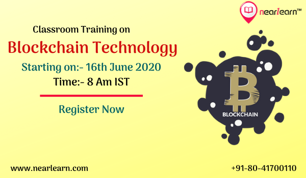 Blockchain Classroom Training 16 June