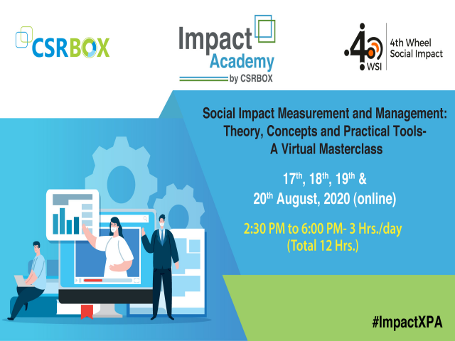 Virtual Masterclass: Social Impact Measurement and Management