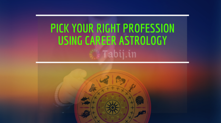 Pick your right profession using career astrology