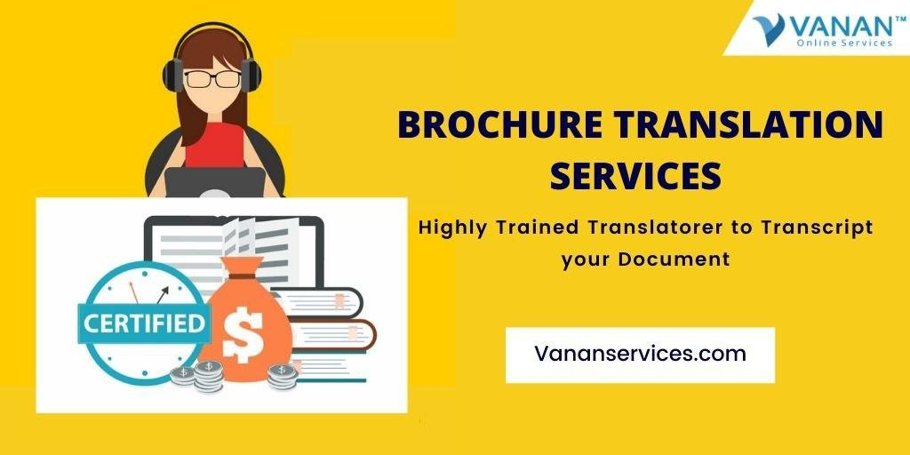 Brochure Translation Services
