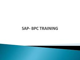 SAP BPC Training By Tekslate