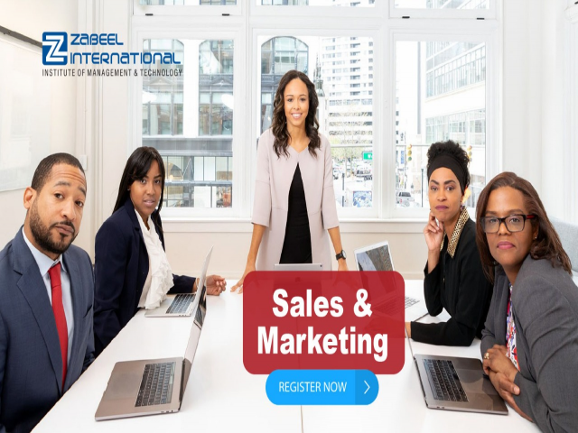 Sales & Marketing Course