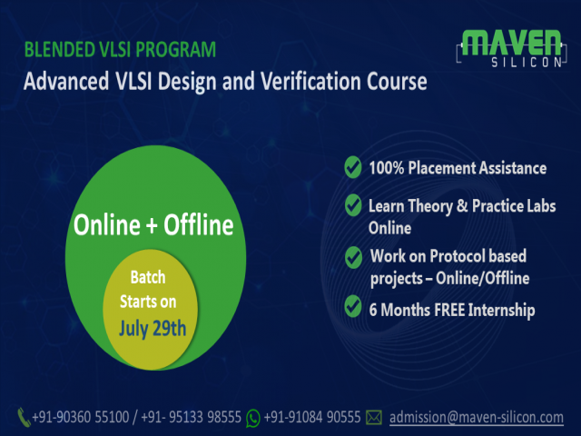 Blended VLSI Design and Verification Course - Blended VLSI RN