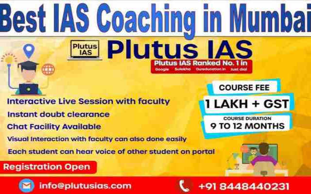 The best IAS coaching in MUMBAI