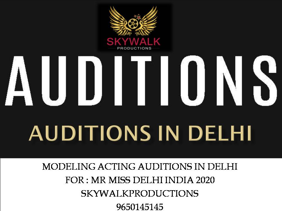 Modeling Acting Auditions for fresher's in India
