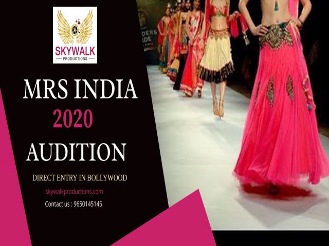 Mrs India 2020 Audition Date Time Venue