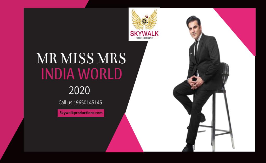 Mr Miss Mrs India 2020 Contestants list