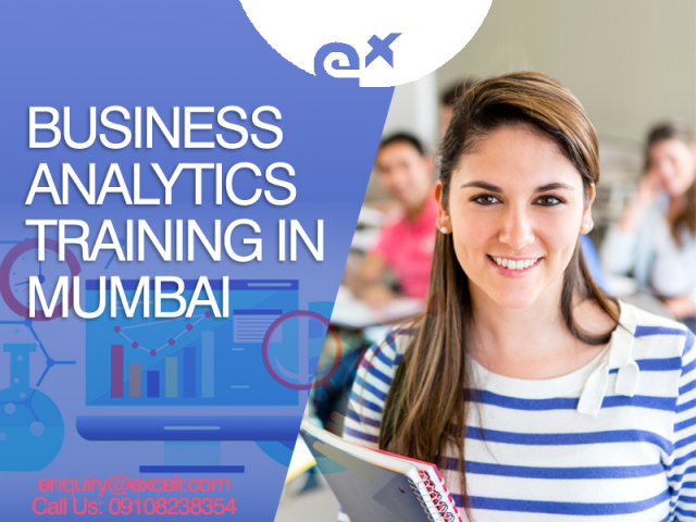 Choose Business Analytics Training from rest and mark yourself as the best