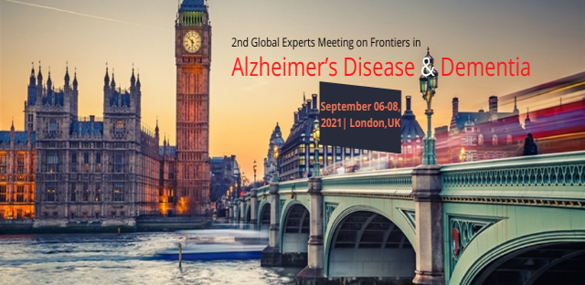 2nd Global Experts Meeting on Frontiers in Alzheimers Disease and Dementia