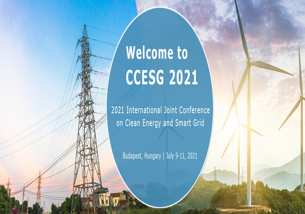 International Joint Conference on Clean Energy and Smart Grid (CCESG 2021)