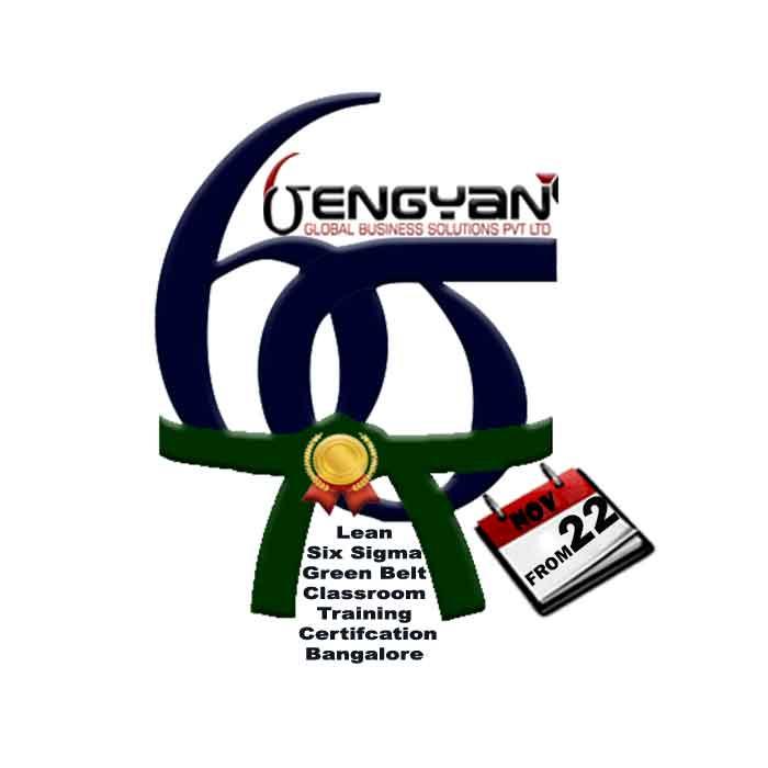 Lean Six Sigma Green Belt Classroom Training in Bangalore