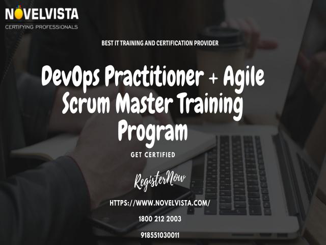 DevOps Practitioner + Agile Scrum Master Certification and Training Program