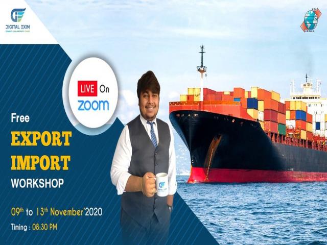 Free Export Import Certificate Workshop l Enroll Now