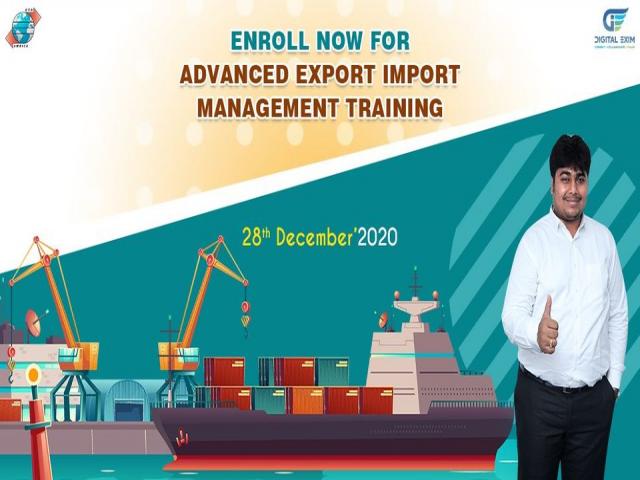 Enrol for Online Advanced Export Import Training