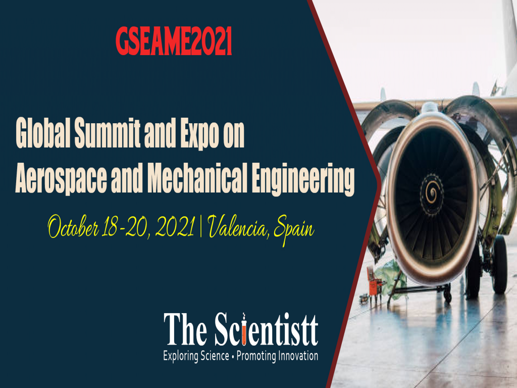 Global Summit and Expo on Aerospace and Mechanical Engineering-2021