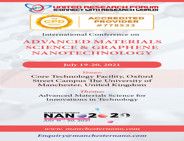 International Conference on Advanced Material Science and Nanotechnology 2021