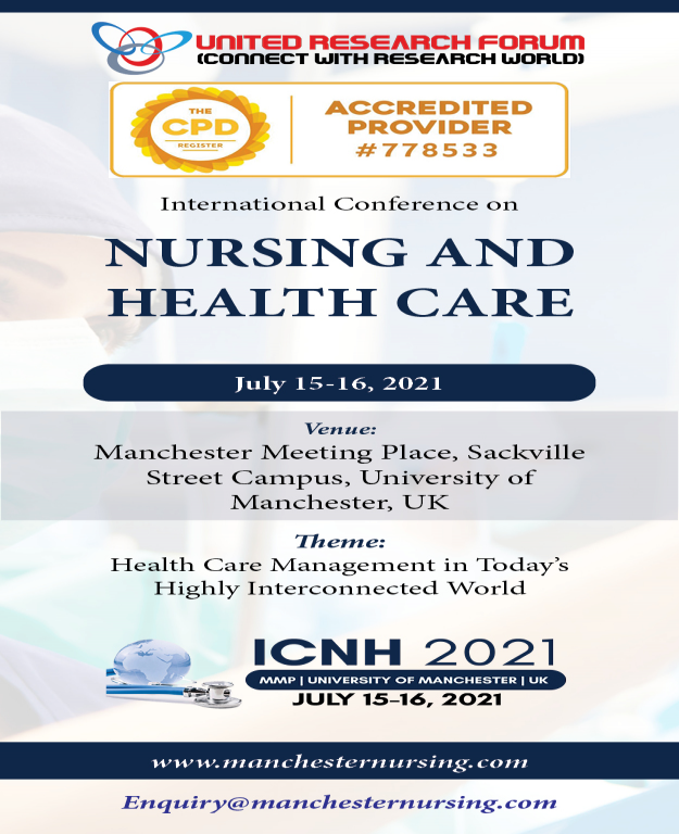 International Conference on Nursing and Health Care 2021
