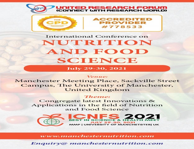 International Conference on Nutrition 2021