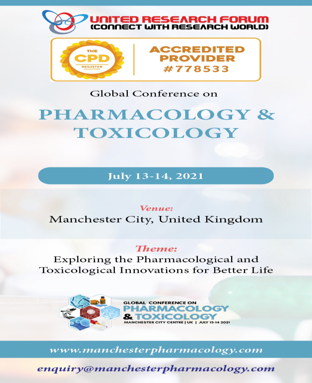 International Conference on Pharmacology 2021