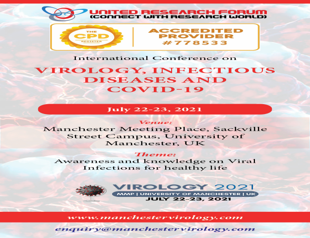International Conference on Virology, COVID-19, Infectious Diseases