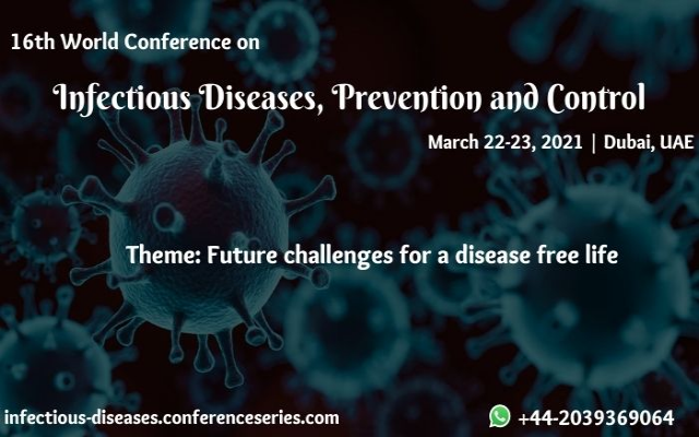 16th World Conference on Infectious Diseases, Prevention and Control
