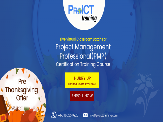 Project Management Professional(PMP) LVC Batches