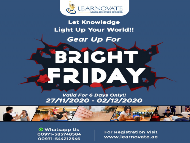 Learnovate's Bright Friday Sale
