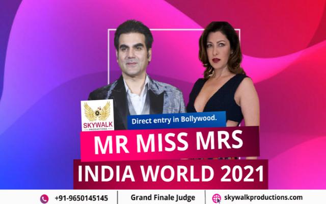 skywalk Mr India World 2021 Audition Date